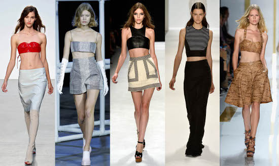 crop top primavera-estate 2014