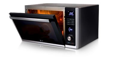 Forno microonde LG con tecnologia Lightwave