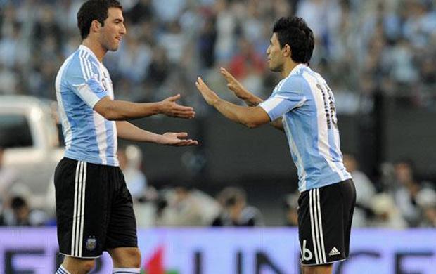 Gonzalo Higuain e Sergio Aguero
