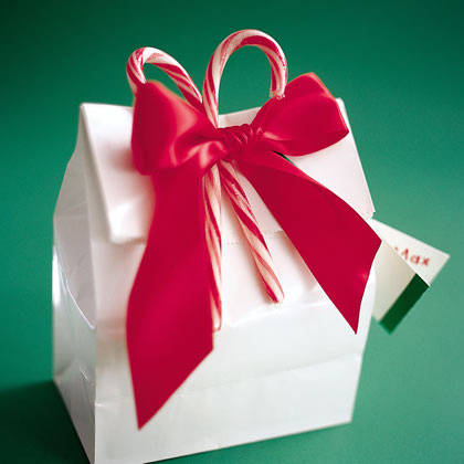 sacchetto regalo fai-da-te